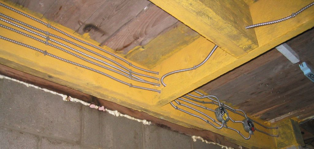 wiring in basement