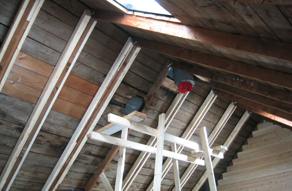 Reinforced rafters
